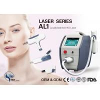 Wholesale Skin Rejuvenation / Skin Cleansing Q Switch Laser Tattoo Removal Machine 22kg from china suppliers