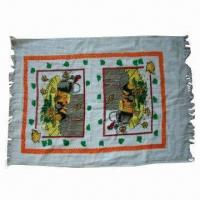 Wholesale Cotton Kitchen Towel with Printing, Customized Specifications are Accepted from china suppliers