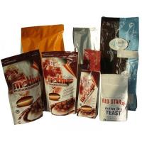 Wholesale PET Zip-Lock Plastic Coffee Bags with Bottom Gusset from china suppliers