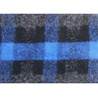 Wholesale Washable Knit Apparel Check Wool Fabric Customised Size OEM Avaliable from china suppliers