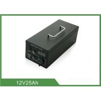 Wholesale Metal Case Rechargeable Portable Camping Battery Deep Cycle 185*140*80mm from china suppliers