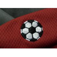 Wholesale Tatami Material Clothing Brand Embossed Patch For Soccer Team from china suppliers