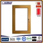 Wholesale aluminium wooden windows ,aluminium cladding windows from china suppliers