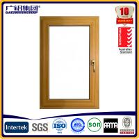Wholesale aluminium wooden windows ,aluminium cladding windows from china suppliers