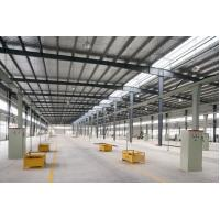 Wholesale Portal Frame Industrial Steel Buildings Fabrication With Q235 Q345 Material from china suppliers
