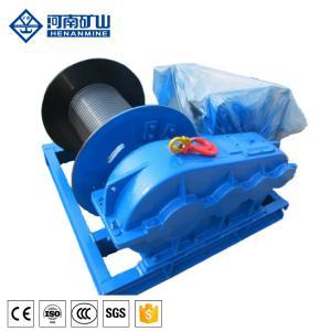 China 3 Phase 380v Hydraulic Hoist Winch , 190 - 300m Heavy Duty Hydraulic Winch on sale