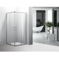Wholesale Bathroom Corner Showers Stalls Double Wheels Square Shower Enclosure 700 X 900 from china suppliers