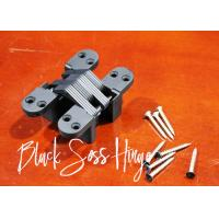 Wholesale Concealed American Hinge Black Zama Soss Invisible Hinge Opening 180 Degree from china suppliers