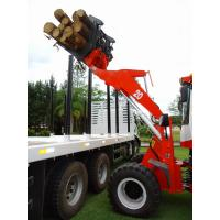 Quality 2T Wheel loader ZL20F with log grab for sale