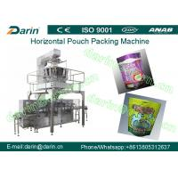 Wholesale SS304 Horizontal pouch packaging machines , granule packaging machine from china suppliers