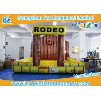 Buy cheap 5*5m Inflatable Jumping Mat Inflatable Matress For Mechanical Rodeo Bull from wholesalers