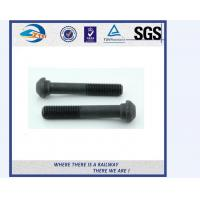 Wholesale ZhongYue railway DIN 933 oval head bolts screw rail bolts with competitive price from china suppliers