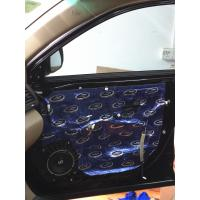 Quality Customize Logo 14kg Car Sound Deadening Foam , Auto Noise Insulation for Car Door and Floor for sale