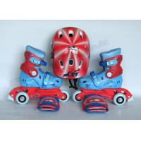 Wholesale Kids Outdoor Quad Roller Skates with Helmet / Protective Gear Fashion and Safety from china suppliers