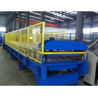 Buy cheap 5.5KW/1.2 Inch Single Chain Drive and Metal Trapezoid Wall Panel Roll Forming Machine from wholesalers