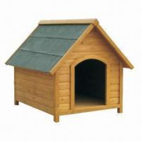 Quality Dog Kennel, Made of Chinese Fir wood, Waterproof Roof, Different Sizes to Choose for sale