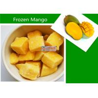 Wholesale Delicious Frozen Mango Fruit / Organic Food IQF Mango Dices from china suppliers