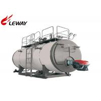 China 4T Horizontal Domestic Oil Fired Boilers 194℃ Steam Temperature SGS Approved on sale