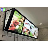 Wholesale Fast Food LED Menu Light Box Wall Mounted / Slim A2 Light Box Menu Boards from china suppliers