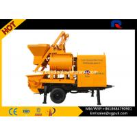 Quality Concrete Mixer Trailer 800L Feeding Volume With Twin Axle For Building for sale