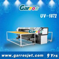 Wholesale 1.8m Garros Automatic inkjet type roll to roll uv flatbed printer inkjet glass printer from china suppliers