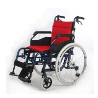 Wholesale Anti-Tipper Standard Manual Wheelchair , Comfortable Disabled Wheelchair from china suppliers