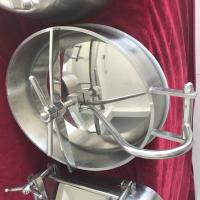 Wholesale Stainless Steel Oval Inward Opening Manway Covers Designer for Food, Beverage Equipment from china suppliers
