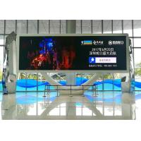 Wholesale SMD3528 1R1G1B Indoor Advertising LED Display Screens With Ultra Slim & Lightweight Curable Panel from china suppliers