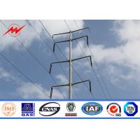 Wholesale Metal Multi Sided Tapered Tubular Power Utility Poles For 33kv Transmission Line Steel Pole Tower from china suppliers