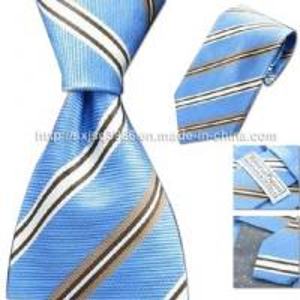 China 100% Silk Woven Necktie on sale