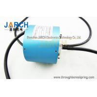 Buy cheap 2-24 Circuits Through Bore Slip Ring / Rotary Electrical Connector With Aluminium Alloy Housing from wholesalers