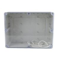 Wholesale 263*182*125mm ABS Watertight Clear Lid Enclosures from china suppliers