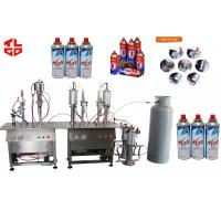 Wholesale Pneumatic Drive Butane Gas / Cartridge Refilling Machines Semi Automatic from china suppliers