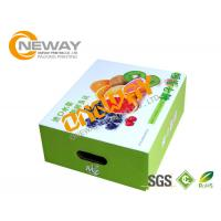 Wholesale Printed Packaging Boxes , Custom Printed Recyclable Farm Packing Paper Apple Box from china suppliers