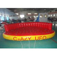 Wholesale 5 Person Towable Water Tubes Inflatable Crazy UFO Inflatable Sports Water Games from china suppliers