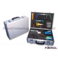 Wholesale Customized Fiber Optic Splicing Tool Kit , Fiber Optic Cable Assembly Durable from china suppliers