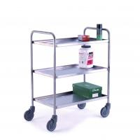 Wholesale 3-Tier Stainless Steel Food/Medical Trolley (HK-SS-T03) from china suppliers