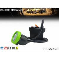 Wholesale IP67 11.2Ah 5W Cree Mining Cap Lights Four Color Lighting ATEX Approved from china suppliers