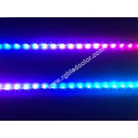 Wholesale dc5v dc12v digital rgb side emitting multi color led strip tape from china suppliers