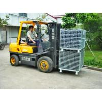 Wholesale Hot Dipped Galvanized Foldable Stacking Wire Mesh Boxes For Transport from china suppliers