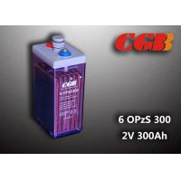 Wholesale 2V 6 OPzS300 Rechargeable Tube Opzs Solar Batteries UPS Telecom Application from china suppliers