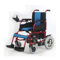 Wholesale Self Braking Battery Powered Wheelchair Electric 12 Inch 250W 24V Steel Frame from china suppliers