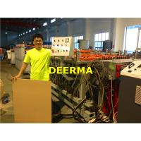 Wholesale High Performance WPC / PVC Foam Board Machine With Twin Screw Extruder from china suppliers
