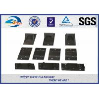 Wholesale Raw material Plain Surface Steel Tie Plate For Fixing Rail Fasteners from china suppliers