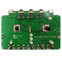 Buy cheap 2 layers PCB, PCBA prototype service, one stop EMS PCB Assembly manufacturer for Audio products from wholesalers