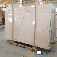 Wholesale Sofitel Gold Beige Marble Slab from china suppliers