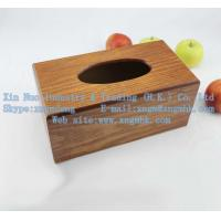 Wholesale Wooden tissue boxes, wooden paper drawn box, living tissue boxes from china suppliers