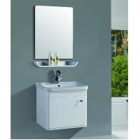 Wholesale 32 inch bathroom vanity plastic bathroom wall cabinet 15mm PVC Thickness from china suppliers