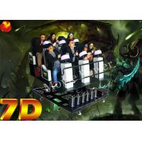 Wholesale LED Screen Interactive Shooting Game 9D Simulator For Science Museum from china suppliers