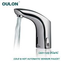 Wholesale oulon cold & hot automatic sensor faucet Leo1102DC&AC from china suppliers